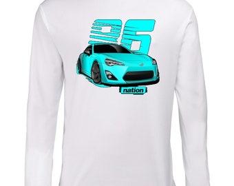Toyota GT 86 Longsleeve Shirt T-Shirt