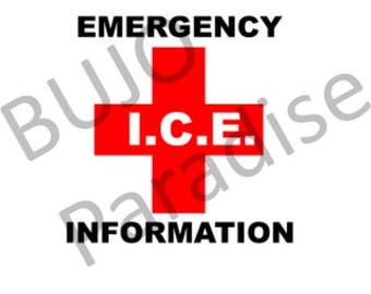 ICE In Case of Emergency Information
