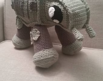 Amigurumi Crochet AT-AT Walker