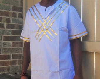 African Clothing, Mens shirt , Ankara, dashiki