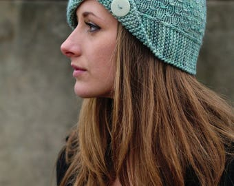 Campello cloche Hat PDF knitting pattern (instructions)