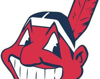 Cleveland Indians Decal/Sticker