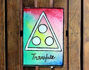 The Glyphs - Transfuse