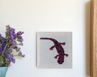 California Giant Salamander Stitching