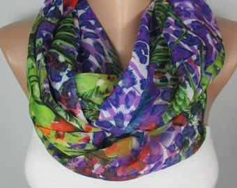 Floral Gardening Scarf Plant Scarf Oversized Scarf Pareo Beach Wrap Flower Scarf Gift For Her For Mom Gift For Women Scarves Women Scarf
