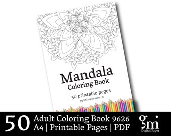 Cool Coloring Books, Adult Coloring Pages, Coloring Book Pages, Printable Coloring Pages,  Mandala Coloring Pages, Coloring Book Adult