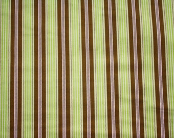 Joel Dewberry, Aviary, Broad Stripe in Green - 1 Yard Clearance