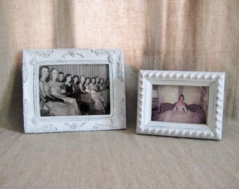 Vintage Framed Formal Photo / 50s Prom/Deb Formal Photo / Prom Night Photo / Instant Ancestors / Movie/Play Prop