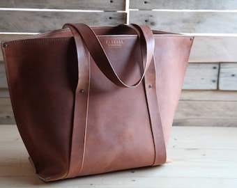Large Tote - Horween Full Grain Leather