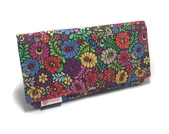 World's greatest wallet. Women's wallet. Card wallets for women. Zipper wallet. Fabric wallet. Vegan wallet. Gift for her.