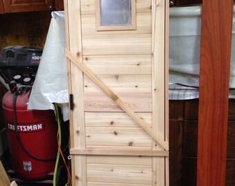 Custom Sauna Door