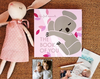 Baby Memory Book, The Book of You by LittleLion Studio
