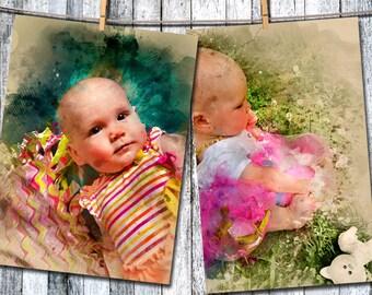 Watercolor Photo Edit