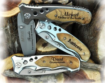 Personalized Engraved Knife, engraved pocket knife, pocket knife, personalized pocket knife, groomsman knife, anniversary gift, gift for him