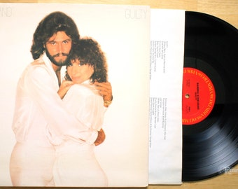 Barbra Streisand - Guilty (1980) Vinyl LP  Barry Gibb, Bee-Gees, Woman in Love