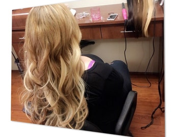 Flat Tip Extensions, 2 gram strand, micro loop, micro ring, human hair, remy hair, double drawn, 20 inch, micro bead, i tip, hair extensions