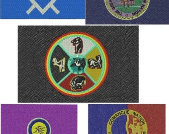Native American Flag Embroidery Design COLLECTION