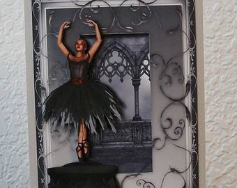 Goth Ballerina Music Box