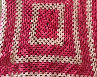 Shades of Pink Afghan