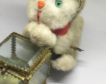 Vintage Wind-Up Toy Cat