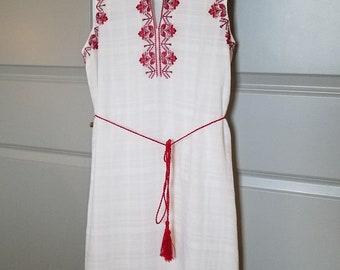 Ehtnic Romanian/Ukrainian Dress, Size S
