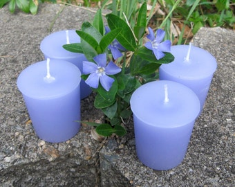 SPRING FLOWERS (votives or 4-oz soy jar candle)