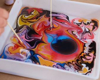 Marky Paper Marbling Kit - 2 PACK, Enough to do each project TWICE!