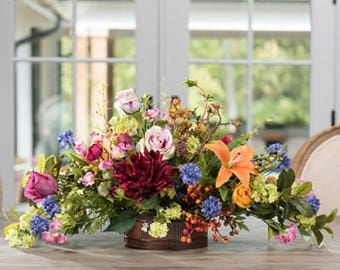 Floral Tapestry Centerpiece