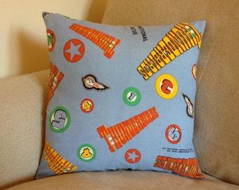 Vintage Thunderbirds are GO! Cushion Cover