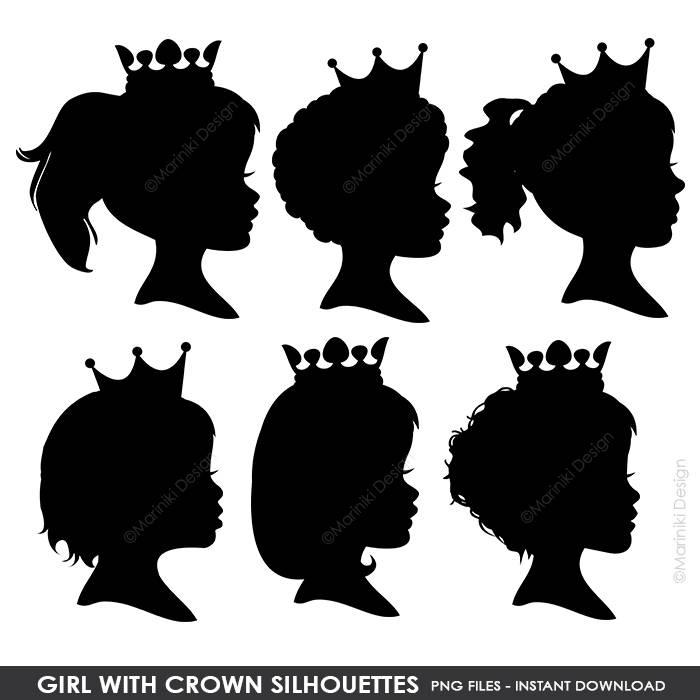 Princess crown silhouette clip art - photo#40