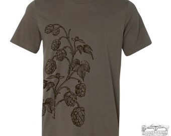 Mens HOPS t shirt s m l xl xxl (+ Color Options) custom