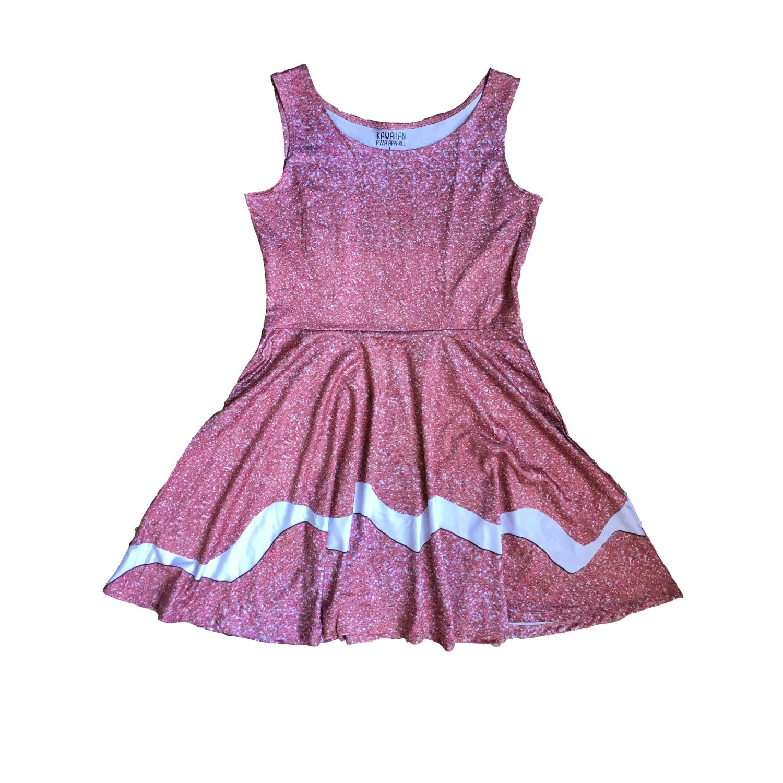 Adultos Taffyta Muttonfudge Wreck-It Ralph inspirado vestido