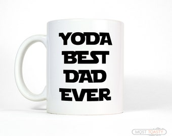 daughter to father gift yoda best dad mug funny dad gift dad gift