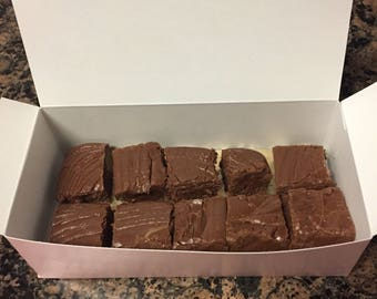 Homemade Fudge/ Creamy Fudge/ Valentine's Chocolate