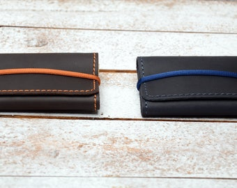 Card case.  card holder . Leather Card Sleeve, Credit Card Holder, slim wallet / credit card holder / leather card case ,  minimalist