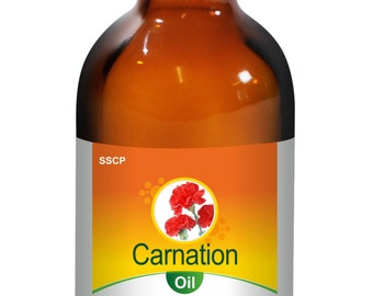 Carnation Oil - Pure & Natural- 15 ML to 250 ML