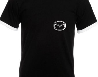 MAZDA Cotton Two – Toned Sport T-Shirt