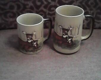 Vintage otagiri made in Japan coffee mugs