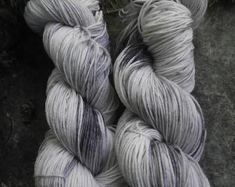 Handpainted sock yarn, fingering yarn, Superwash Merino Tencel Nylon, 100 grams-Winter is Coming