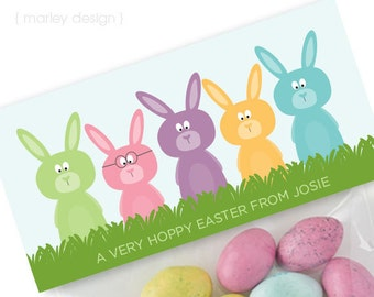 Some bunny likes you easter tags easter gift tags easter easter treat bag toppers printable personalized easter goodie bags easter treat bags easter gift bags digital negle Image collections