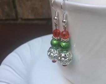 Christmas Sparkle earrings