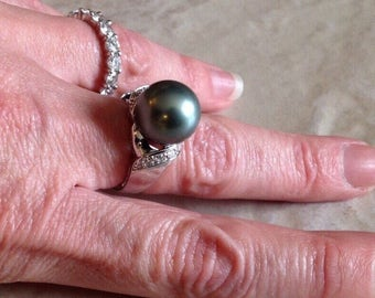 Sale Tahitian Pearl Ring