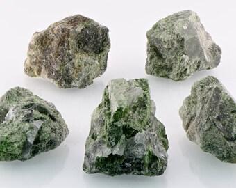 Chrysoprase Raw Rough Gemstone - Stone of Divinity