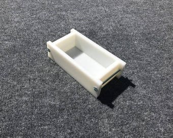 Single HDPE Soap Loaf Making Mold 1 - 2 lb per mold CP Mp HP Oven Safe