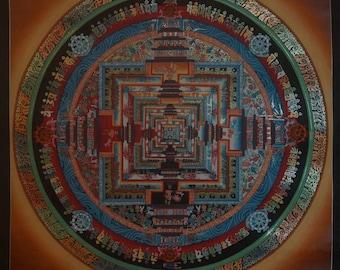 Original Meditation Mandala by Topke Lama