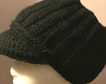 Black Cap; comfortable & warm