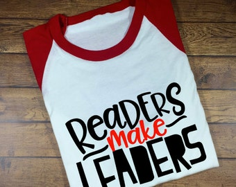 Teacher Read Across America T-shirt, Reading Shirt, Teacher Raglan, Teacher Gift, Gift for Students, Gift for Grandchild, Gift for Her