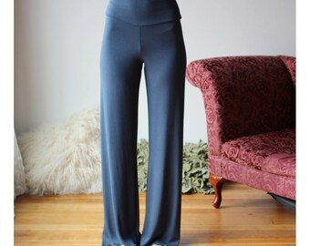 bamboo pajama pants with yoke waistband - NOUVEAU bamboo sleepwear range - made to order