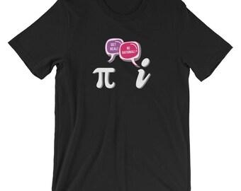 Get Real Be Rational T-shirt Funny Math Geek Tee