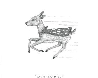 FAWN-LA-Kiss - 15 x 20-* Unlimited Edition *.